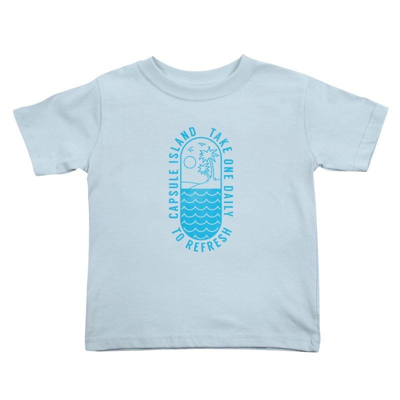 CAPSULE ISLAND Kids Toddler T-Shirt by alchemist's Artist Shop
