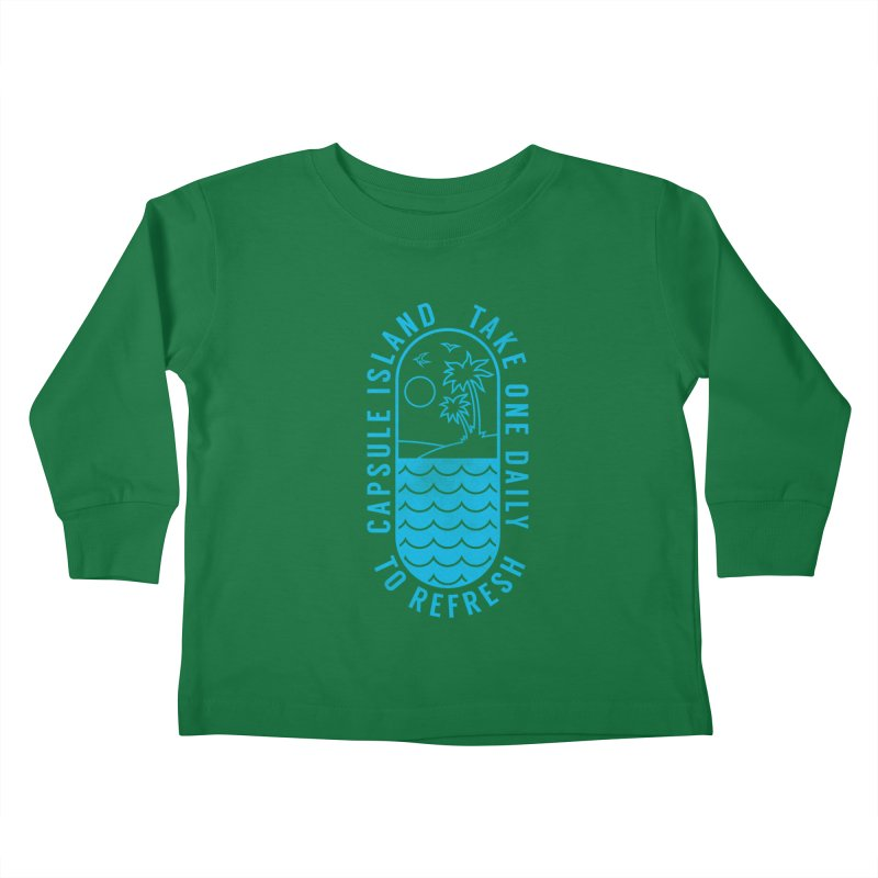 CAPSULE ISLAND Kids Toddler Longsleeve T-Shirt by alchemist's Artist Shop