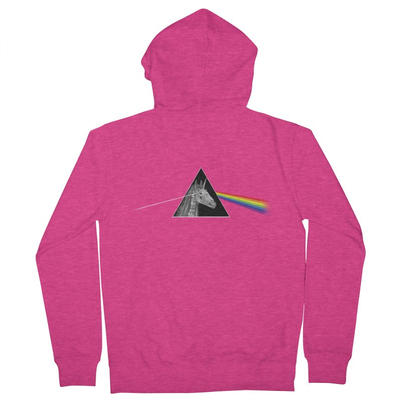 THE SECRET BEHIND TRIANGLE & RAINBOW Women's Zip-Up Hoody by alchemist's Artist Shop