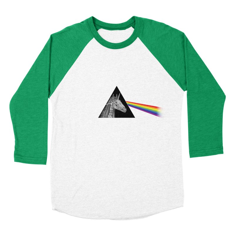 THE SECRET BEHIND TRIANGLE & RAINBOW Women's Baseball Triblend T-Shirt by alchemist's Artist Shop