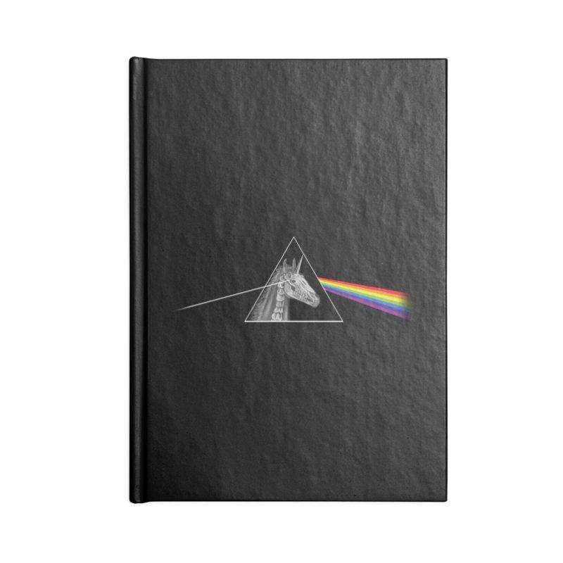 THE SECRET BEHIND TRIANGLE & RAINBOW Accessories Notebook by alchemist's Artist Shop