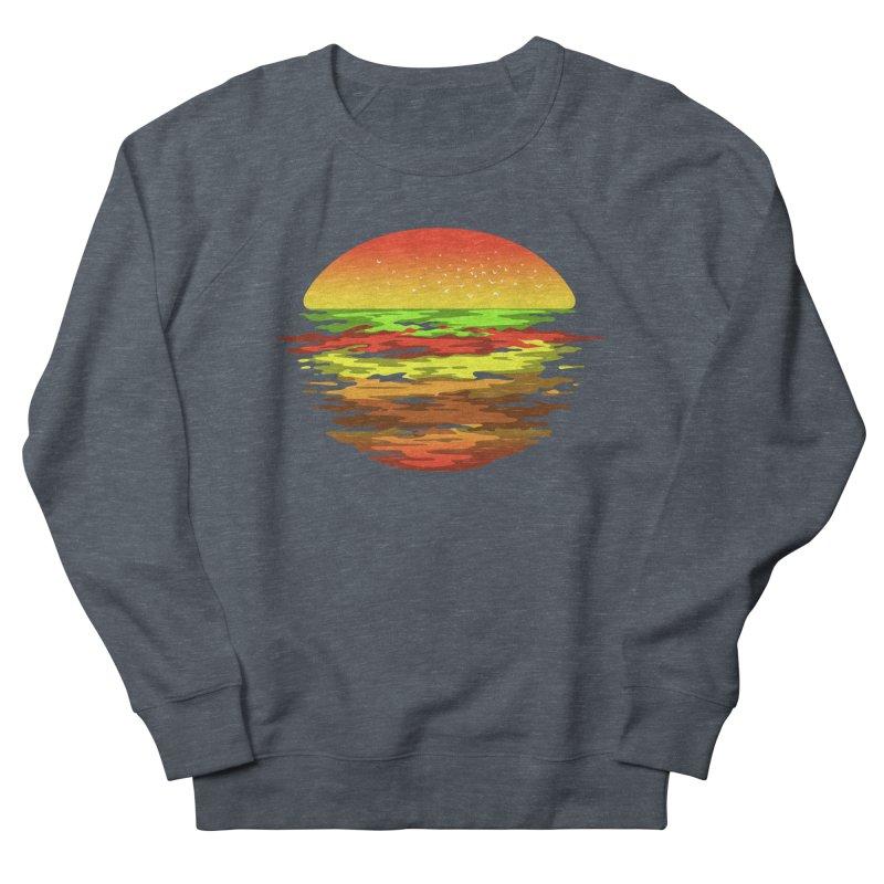 SUNSET BURGER Women's Sweatshirt by alchemist's Artist Shop
