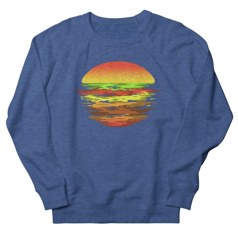 SUNSET BURGER Men's Sweatshirt by alchemist's Artist Shop