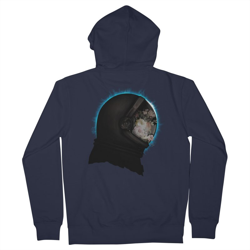 ASTRAL ECLIPSE Women's Zip-Up Hoody by alchemist's Artist Shop