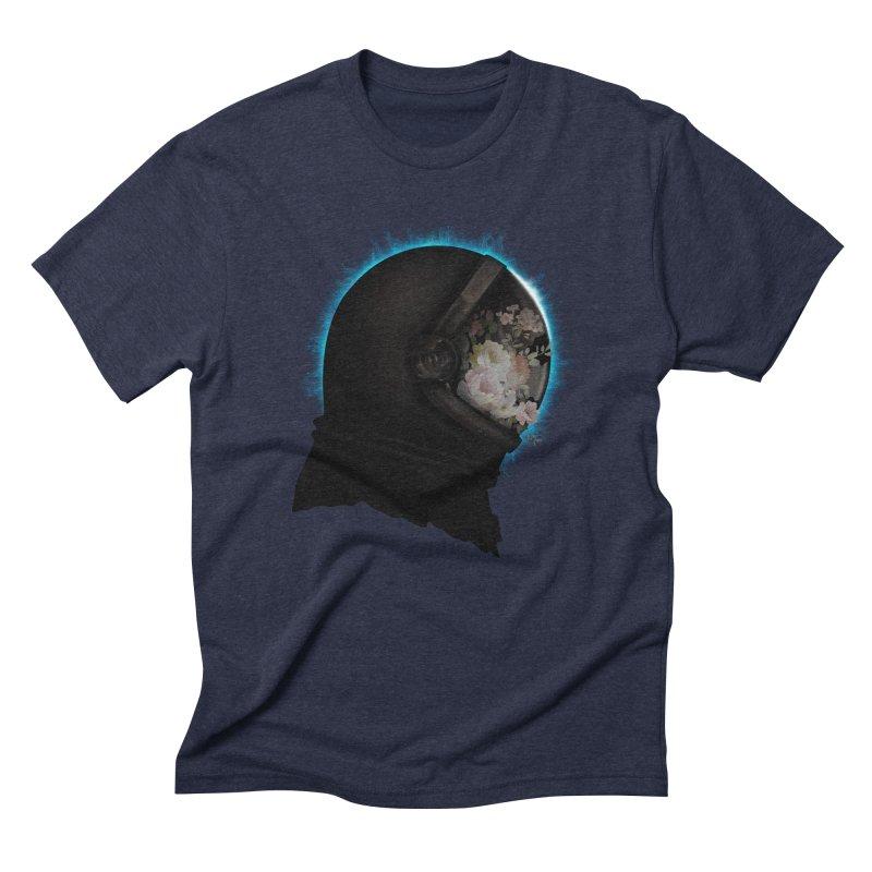 ASTRAL ECLIPSE Men's Triblend T-Shirt by alchemist's Artist Shop