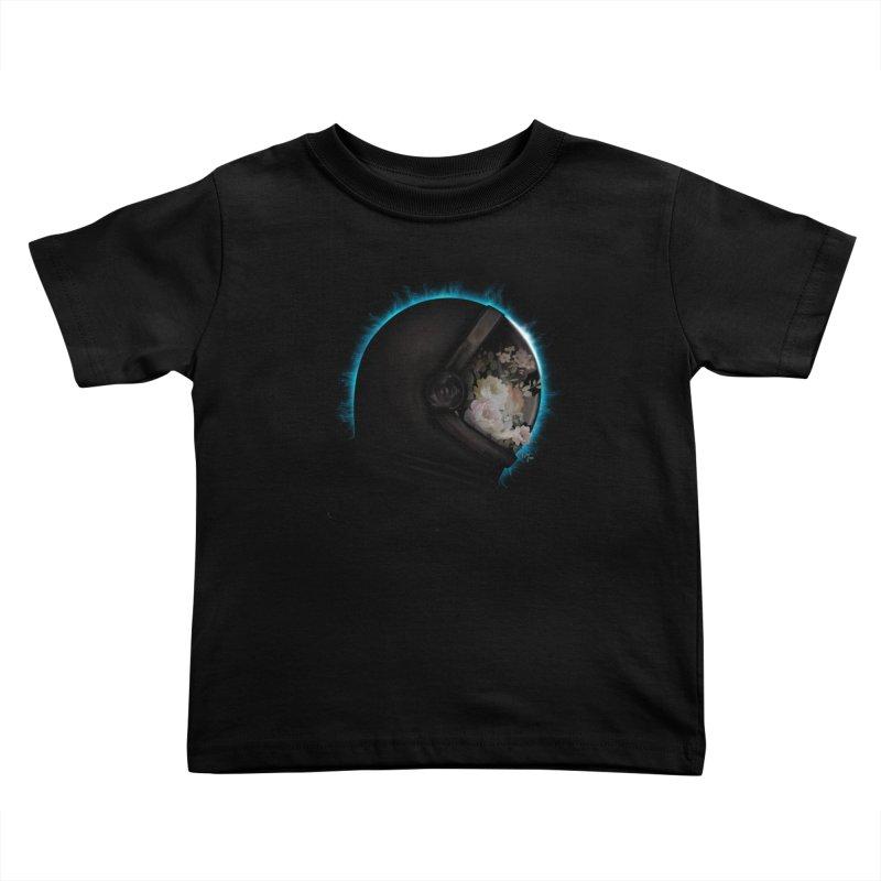 ASTRAL ECLIPSE Kids Toddler T-Shirt by alchemist's Artist Shop