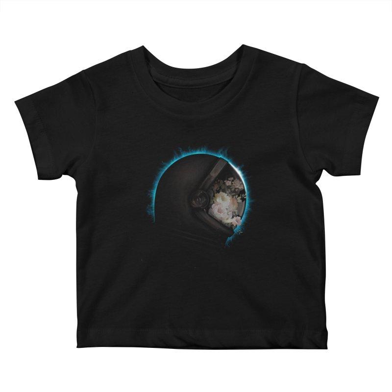ASTRAL ECLIPSE Kids Baby T-Shirt by alchemist's Artist Shop