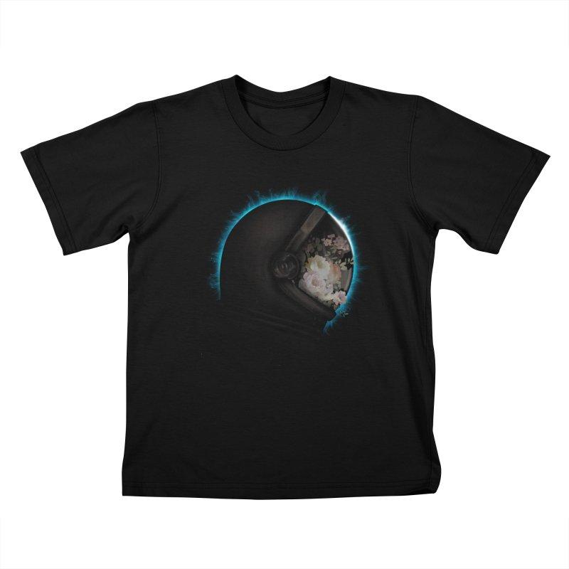 ASTRAL ECLIPSE Kids T-Shirt by alchemist's Artist Shop
