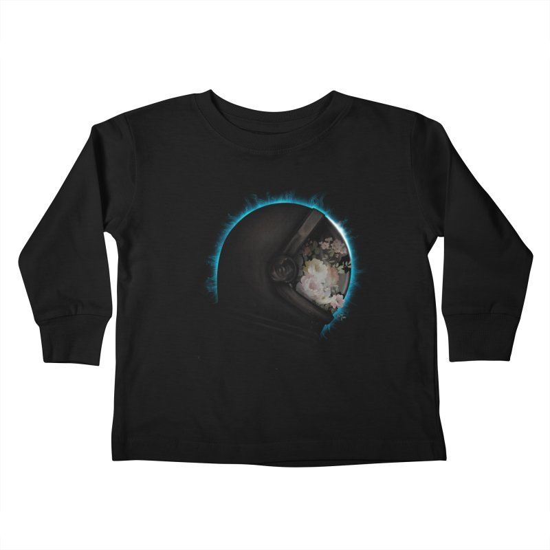 ASTRAL ECLIPSE Kids Toddler Longsleeve T-Shirt by alchemist's Artist Shop