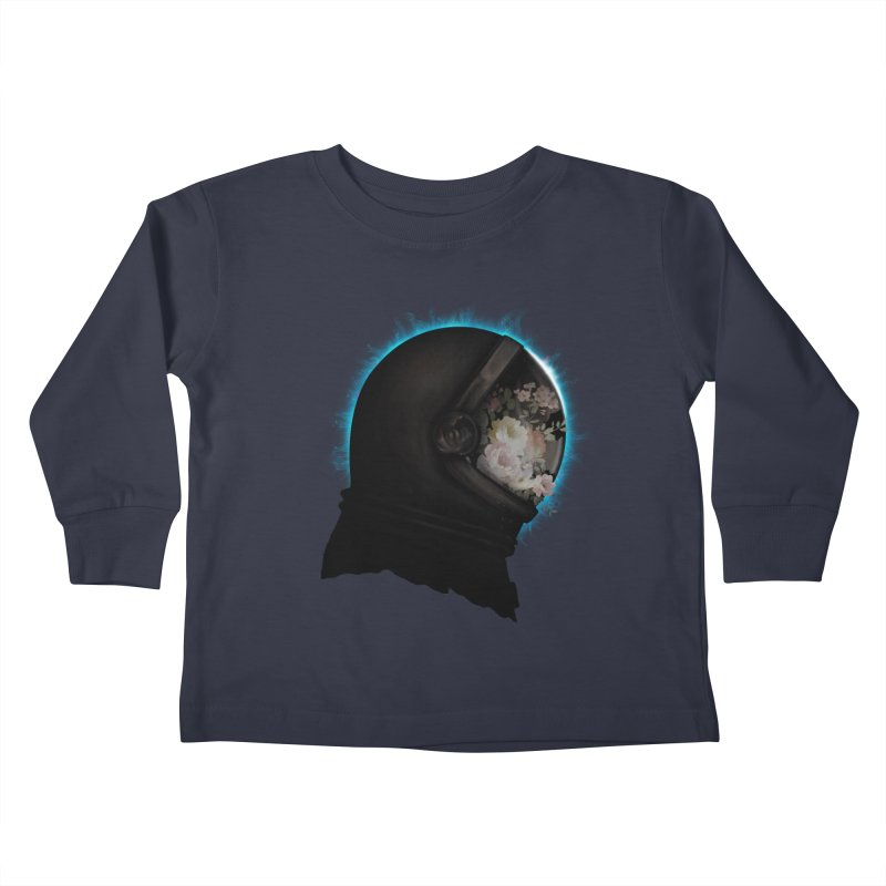 ASTRAL ECLIPSE Kids Toddler Longsleeve T-Shirt by alchemist's Artist Shop