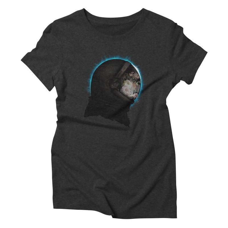 ASTRAL ECLIPSE Women's Triblend T-shirt by alchemist's Artist Shop