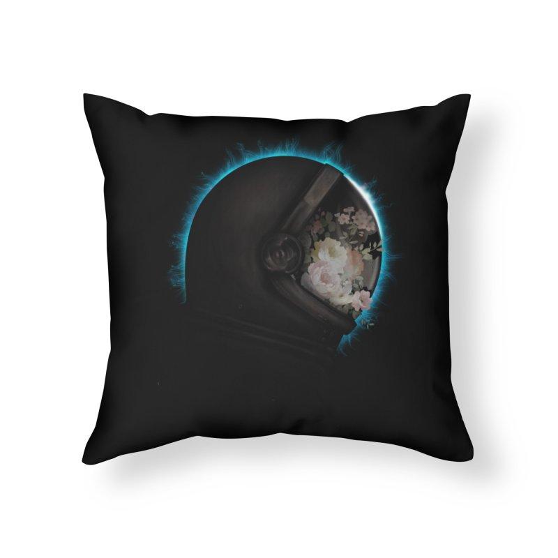 ASTRAL ECLIPSE Home Throw Pillow by alchemist's Artist Shop