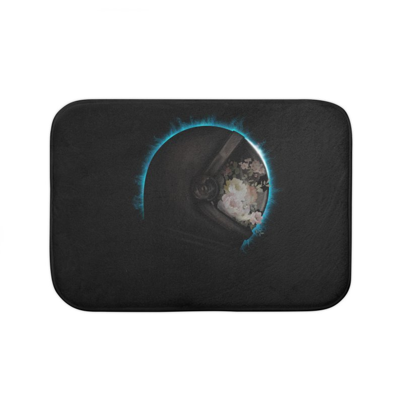 ASTRAL ECLIPSE Home Bath Mat by alchemist's Artist Shop