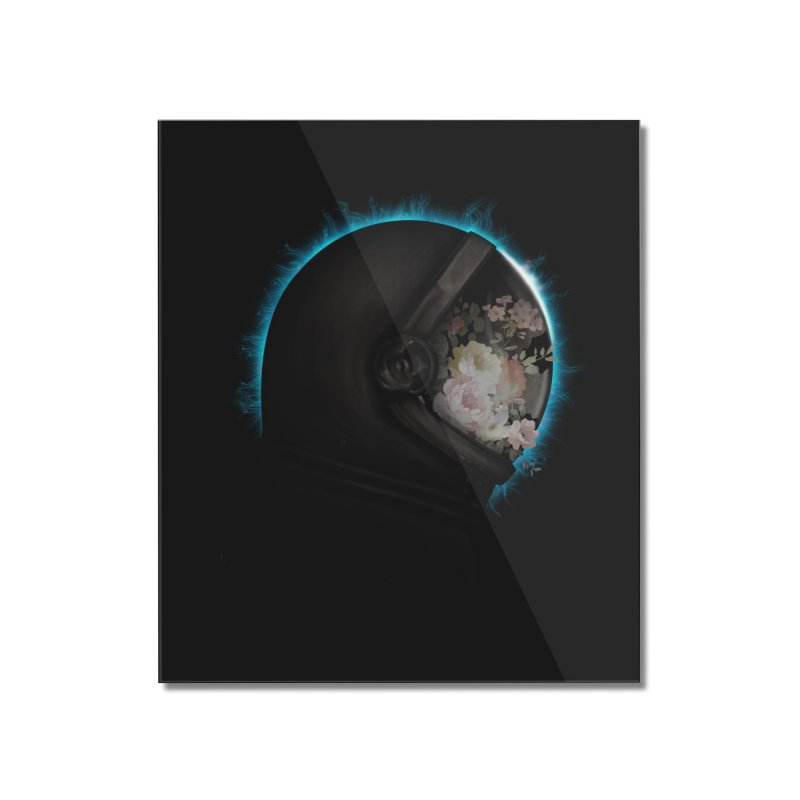 ASTRAL ECLIPSE Home Mounted Acrylic Print by alchemist's Artist Shop