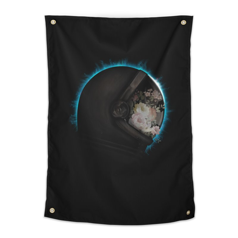 ASTRAL ECLIPSE Home Tapestry by alchemist's Artist Shop
