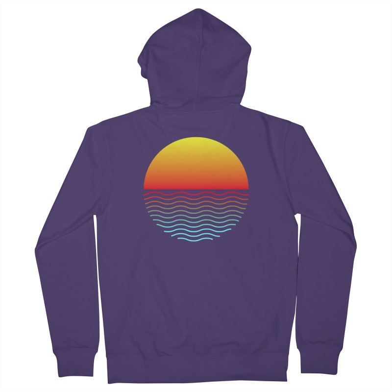 SIMPLY SUNRISE Women's Zip-Up Hoody by alchemist's Artist Shop