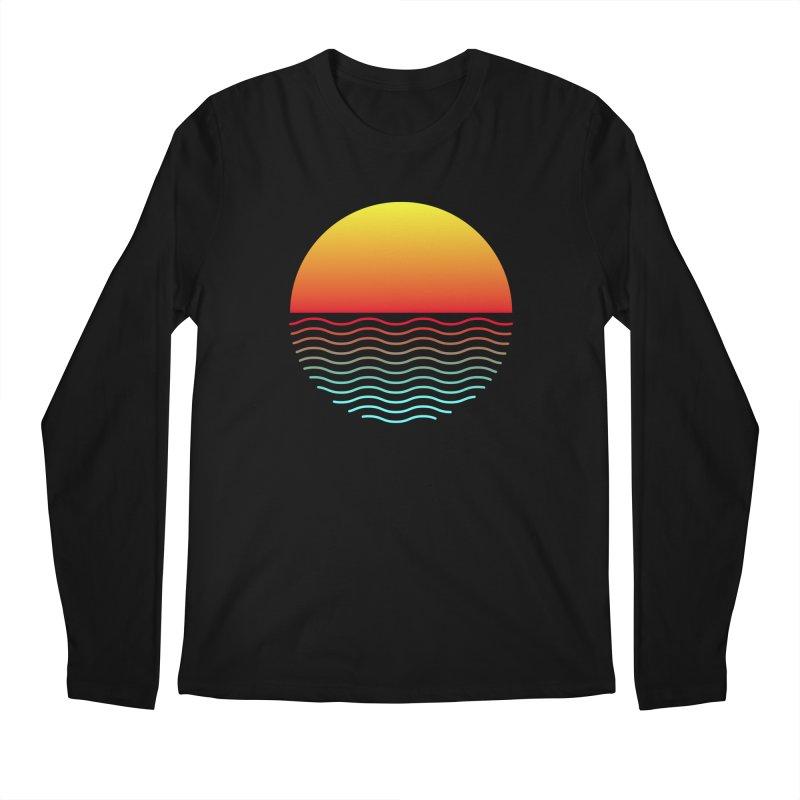SIMPLY SUNRISE Men's Longsleeve T-Shirt by alchemist's Artist Shop