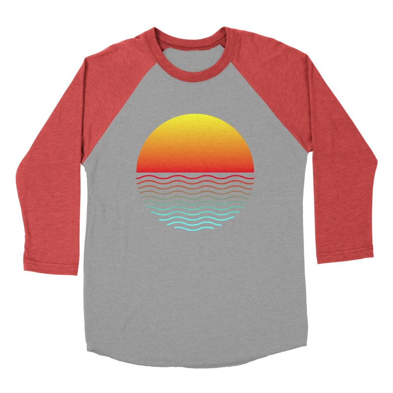 SIMPLY SUNRISE Men's Baseball Triblend T-Shirt by alchemist's Artist Shop