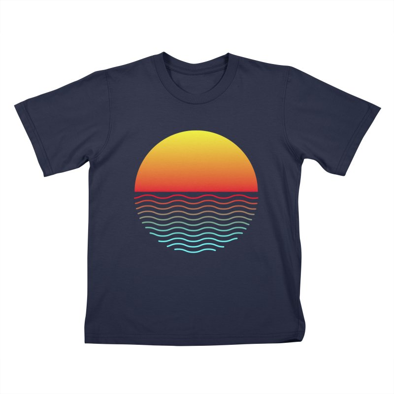 SIMPLY SUNRISE Kids T-Shirt by alchemist's Artist Shop