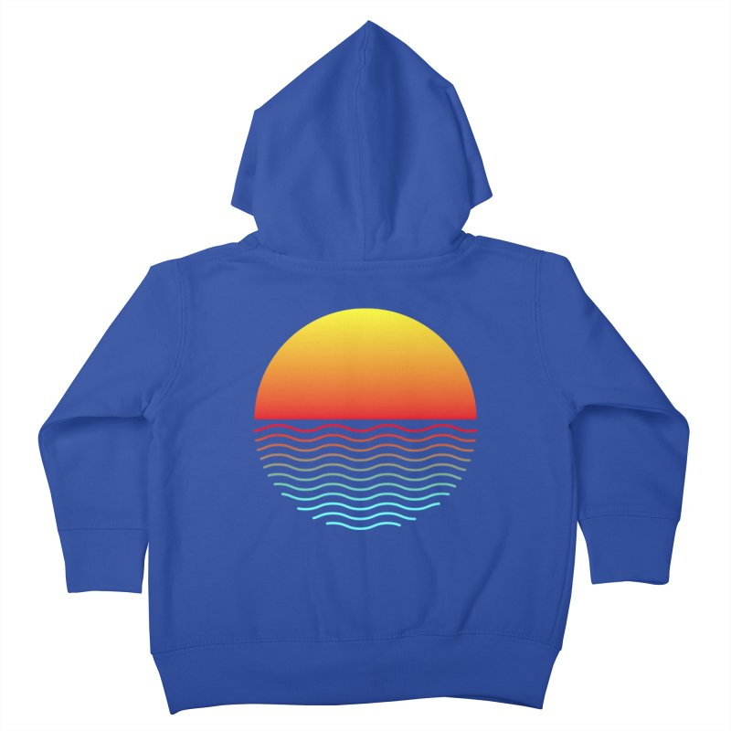 SIMPLY SUNRISE Kids Toddler Zip-Up Hoody by alchemist's Artist Shop