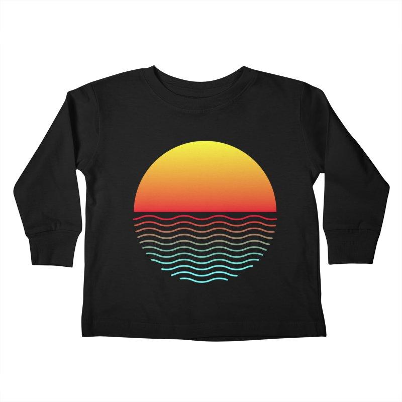 SIMPLY SUNRISE Kids Toddler Longsleeve T-Shirt by alchemist's Artist Shop