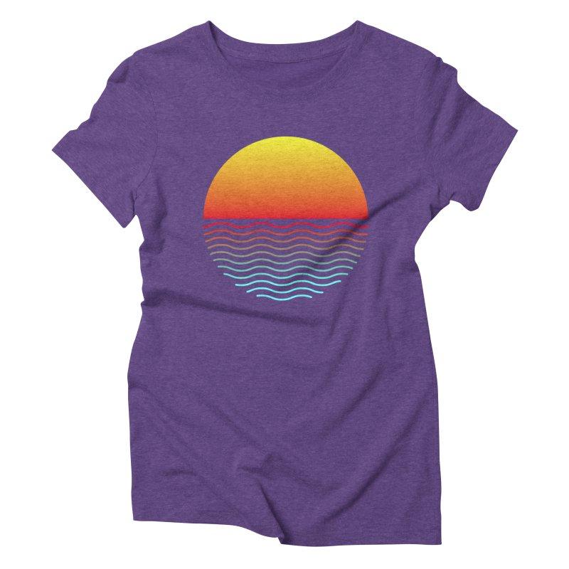 SIMPLY SUNRISE Women's Triblend T-Shirt by alchemist's Artist Shop