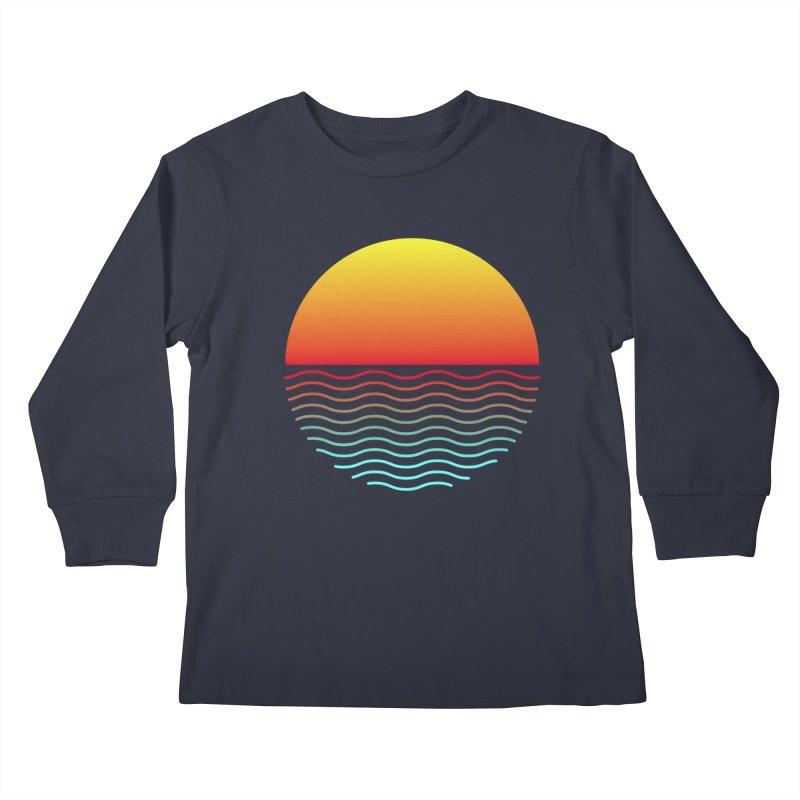 SIMPLY SUNRISE Kids Longsleeve T-Shirt by alchemist's Artist Shop