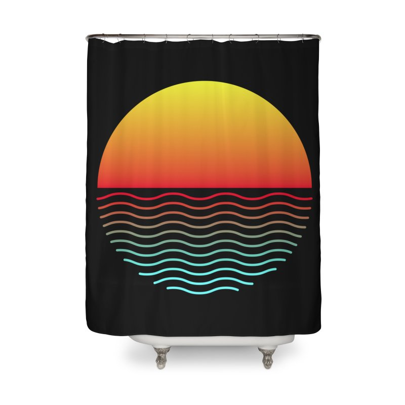 SIMPLY SUNRISE Home Shower Curtain by alchemist's Artist Shop