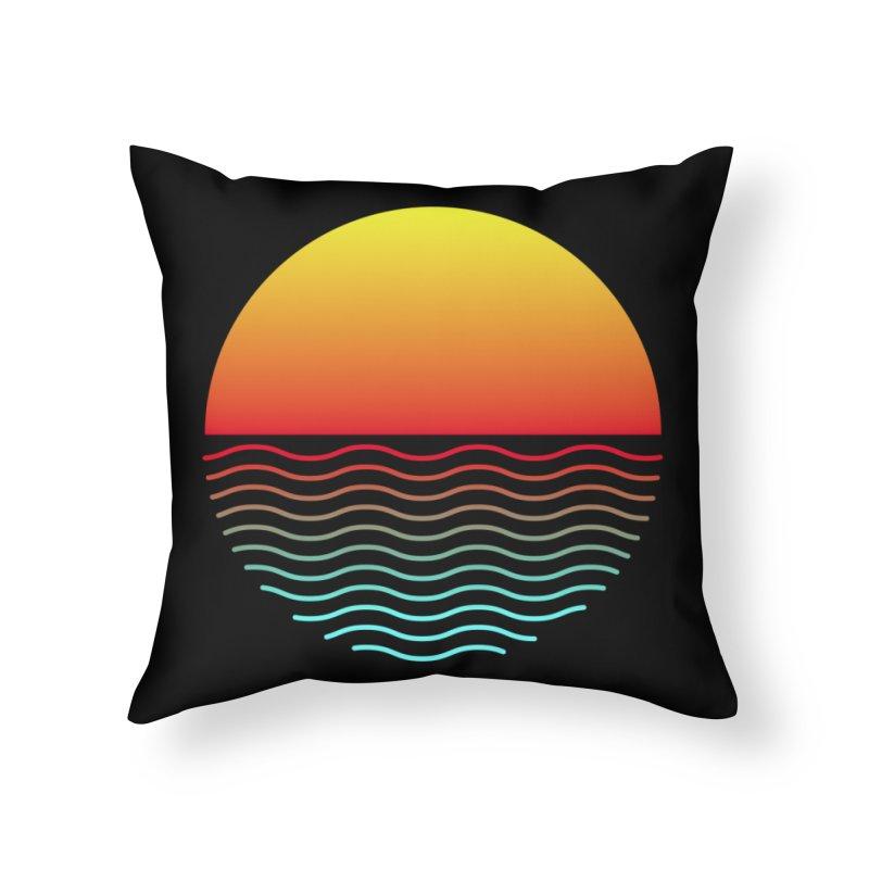 SIMPLY SUNRISE Home Throw Pillow by alchemist's Artist Shop