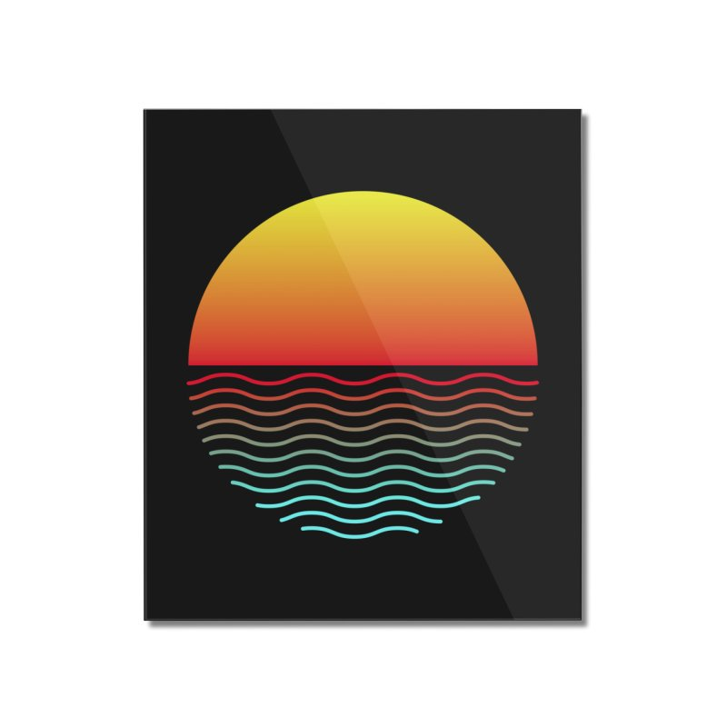 SIMPLY SUNRISE Home Mounted Acrylic Print by alchemist's Artist Shop