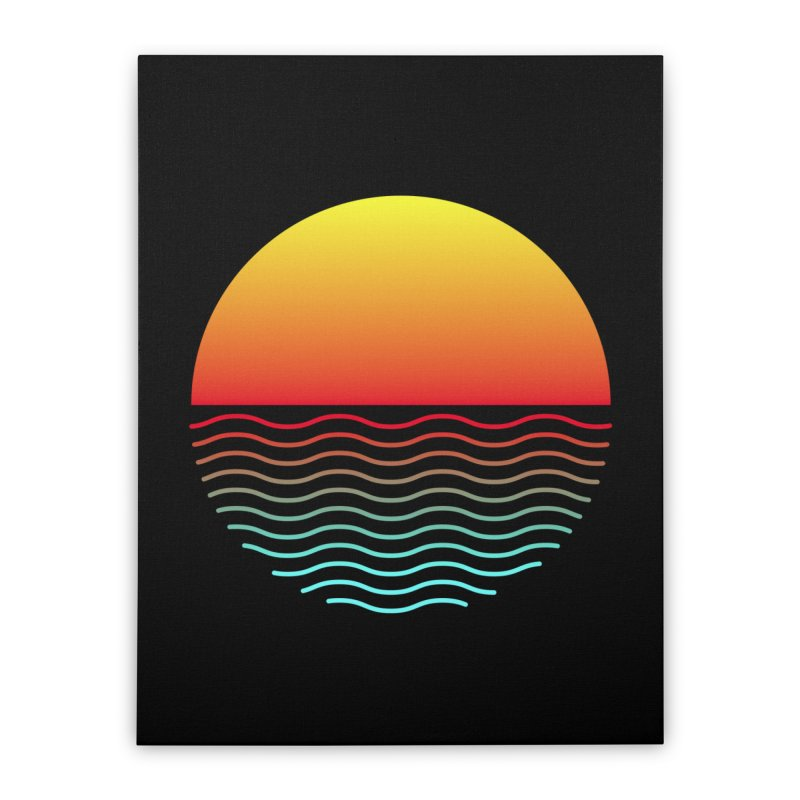 SIMPLY SUNRISE Home Stretched Canvas by alchemist's Artist Shop