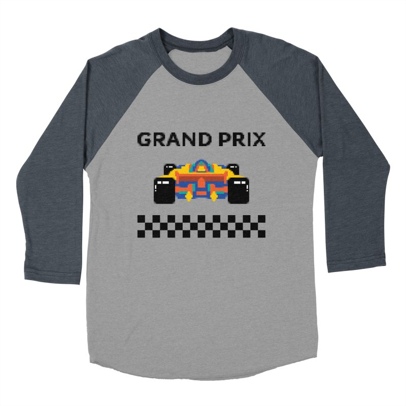 GRAND PRIX Women's Baseball Triblend T-Shirt by alchemist's Artist Shop