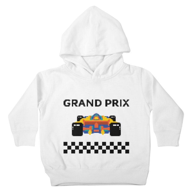 GRAND PRIX Kids Toddler Pullover Hoody by alchemist's Artist Shop