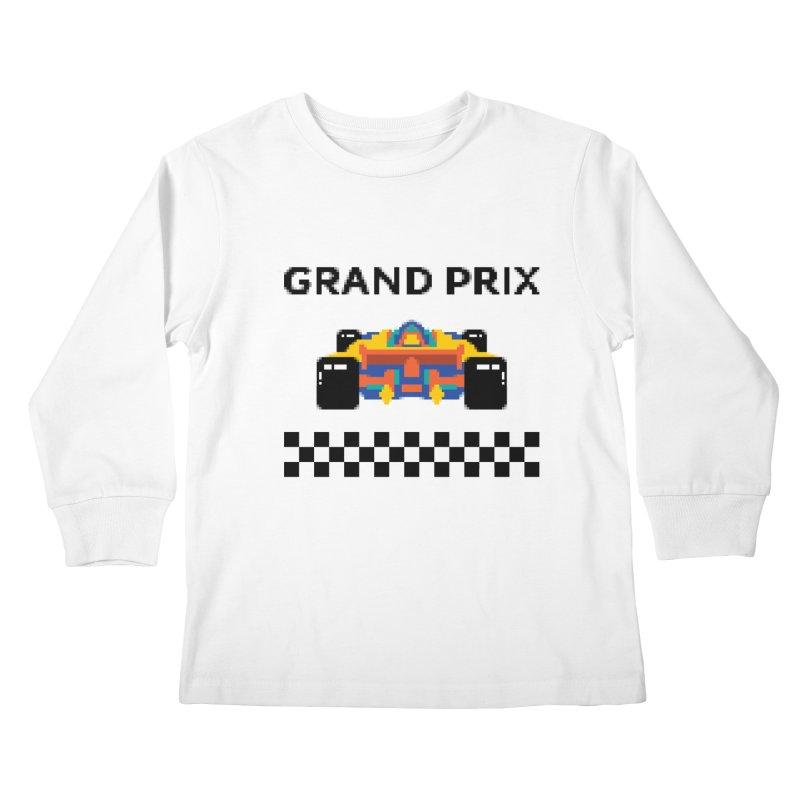 GRAND PRIX Kids Longsleeve T-Shirt by alchemist's Artist Shop