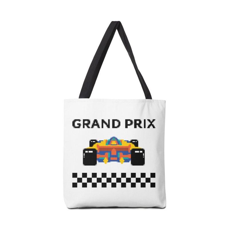 GRAND PRIX Accessories Bag by alchemist's Artist Shop
