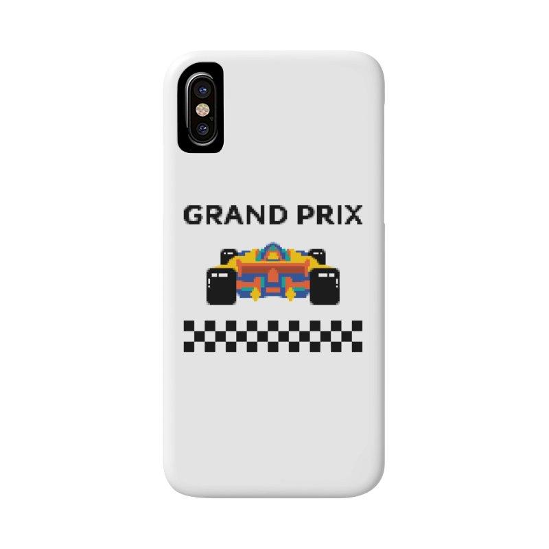 GRAND PRIX Accessories Phone Case by alchemist's Artist Shop