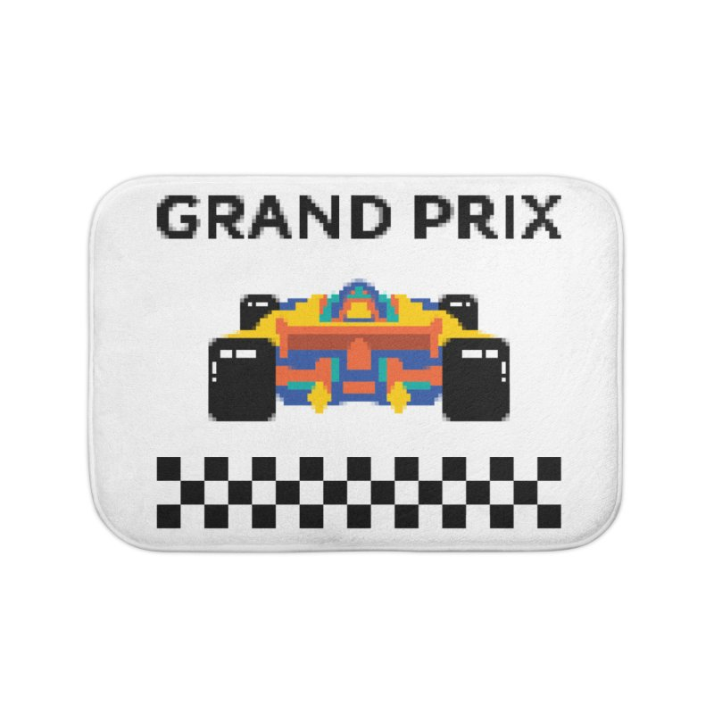 GRAND PRIX Home Bath Mat by alchemist's Artist Shop