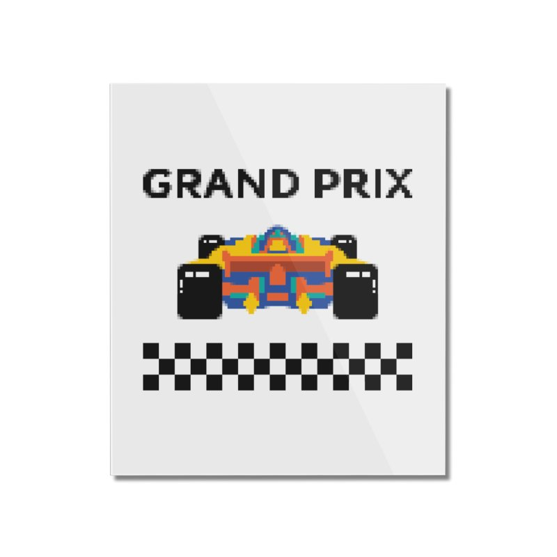 GRAND PRIX Home Mounted Acrylic Print by alchemist's Artist Shop