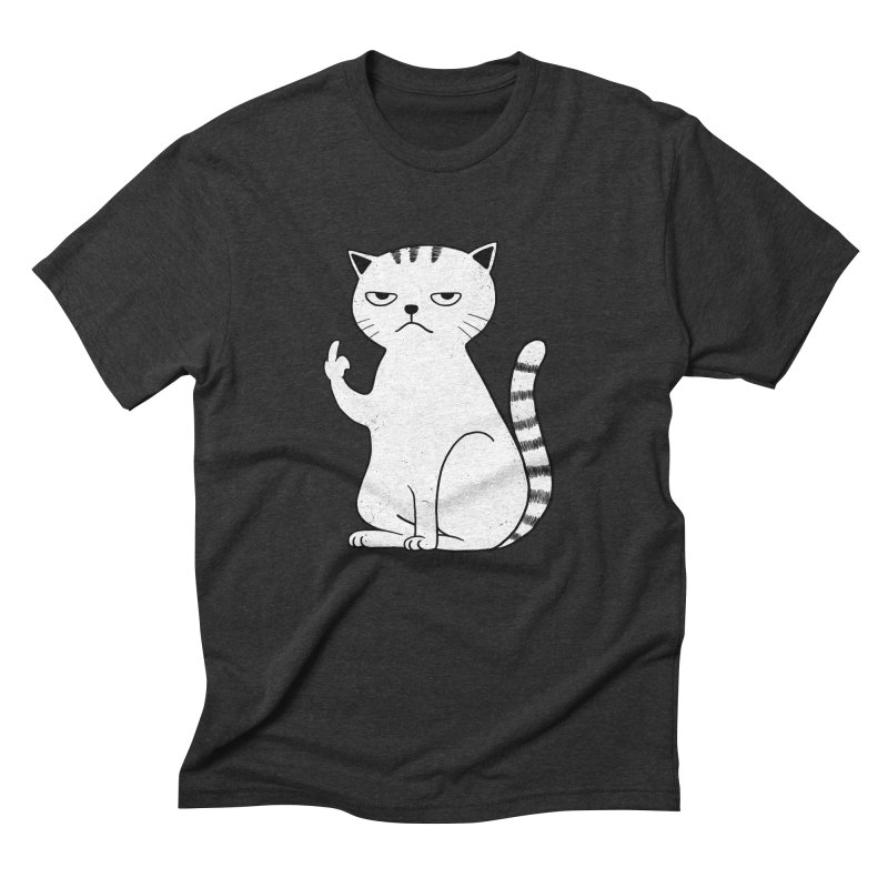 F#ck u boss Men's Triblend T-Shirt by alchemist's Artist Shop
