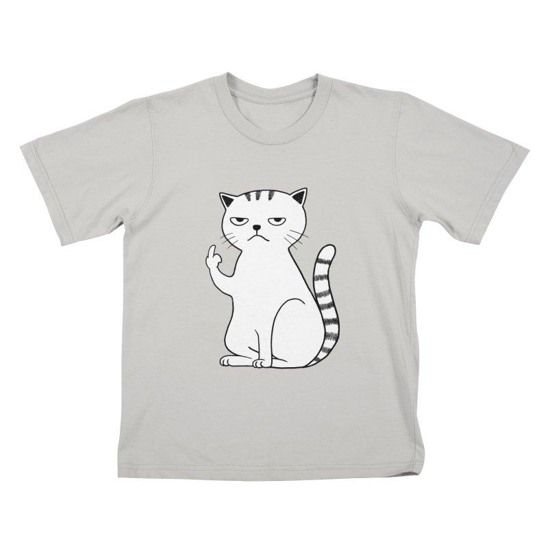 F#ck u boss Kids T-Shirt by alchemist's Artist Shop