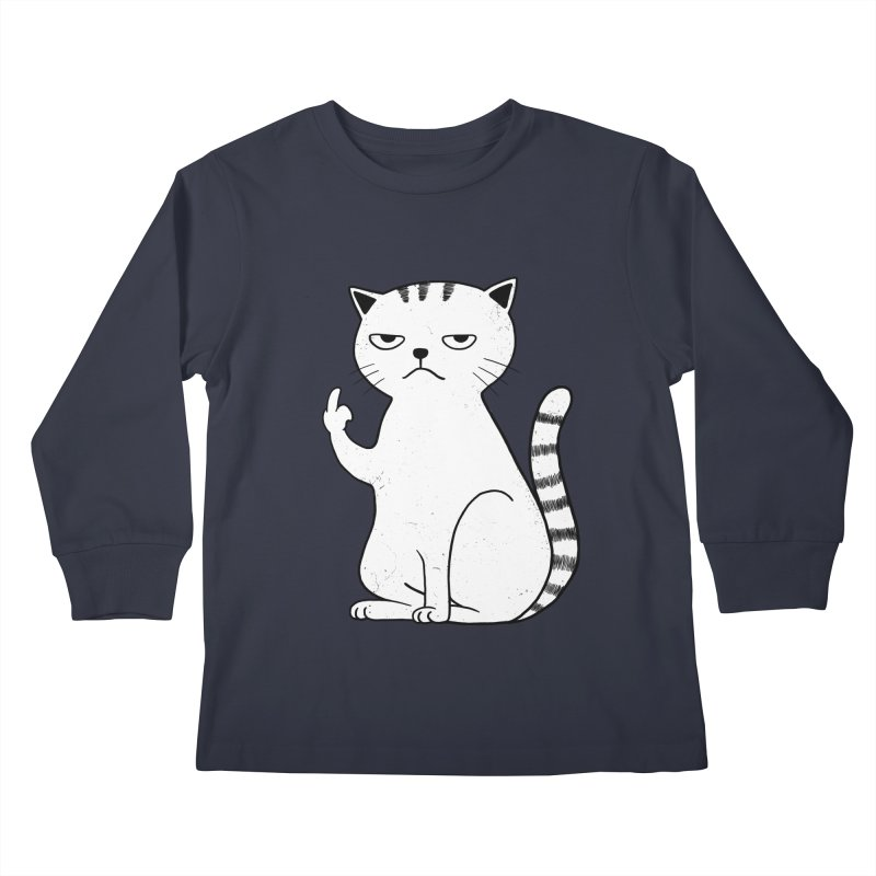 F#ck u boss Kids Longsleeve T-Shirt by alchemist's Artist Shop