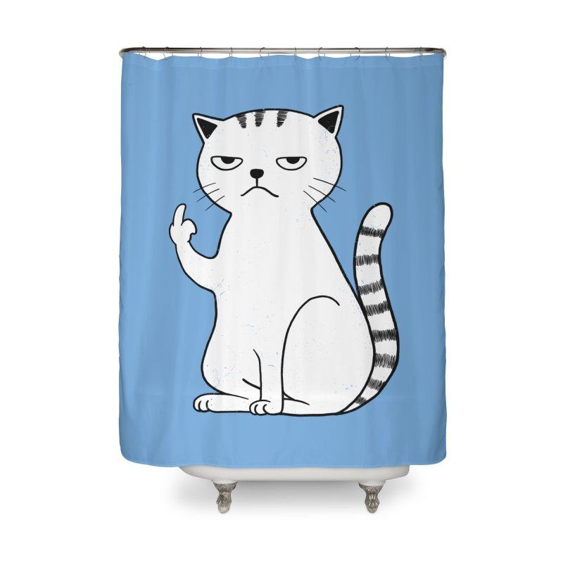 F#ck u boss Home Shower Curtain by alchemist's Artist Shop