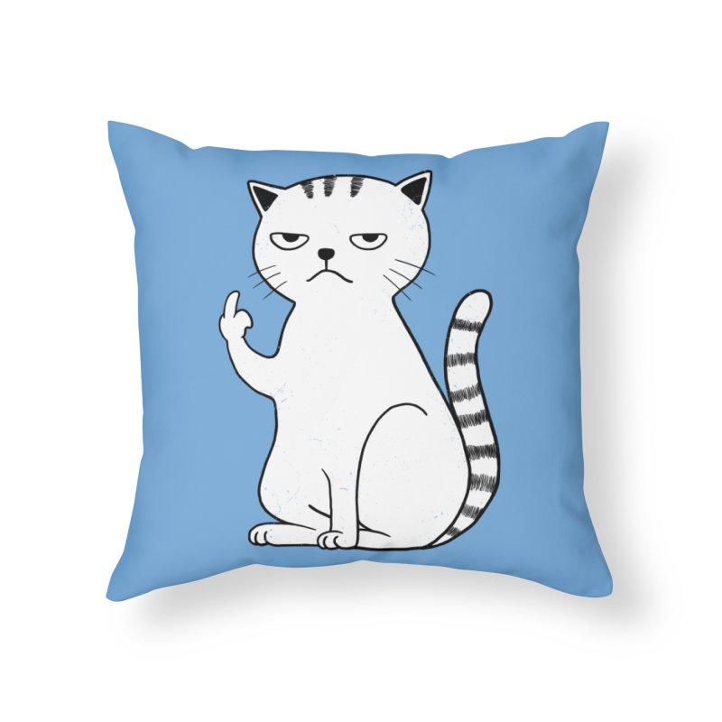 F#ck u boss Home Throw Pillow by alchemist's Artist Shop