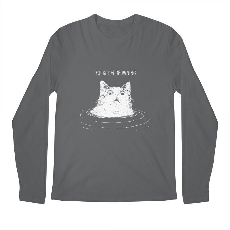 I'M DROWNING Men's Longsleeve T-Shirt by alchemist's Artist Shop