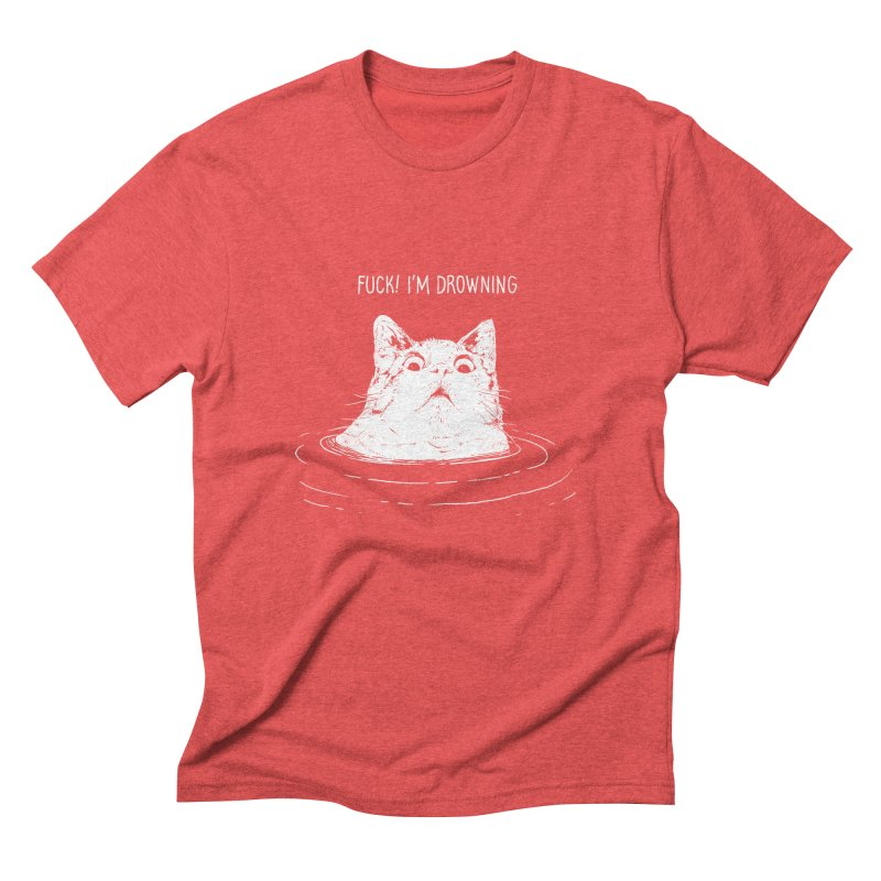 I'M DROWNING Men's Triblend T-Shirt by alchemist's Artist Shop
