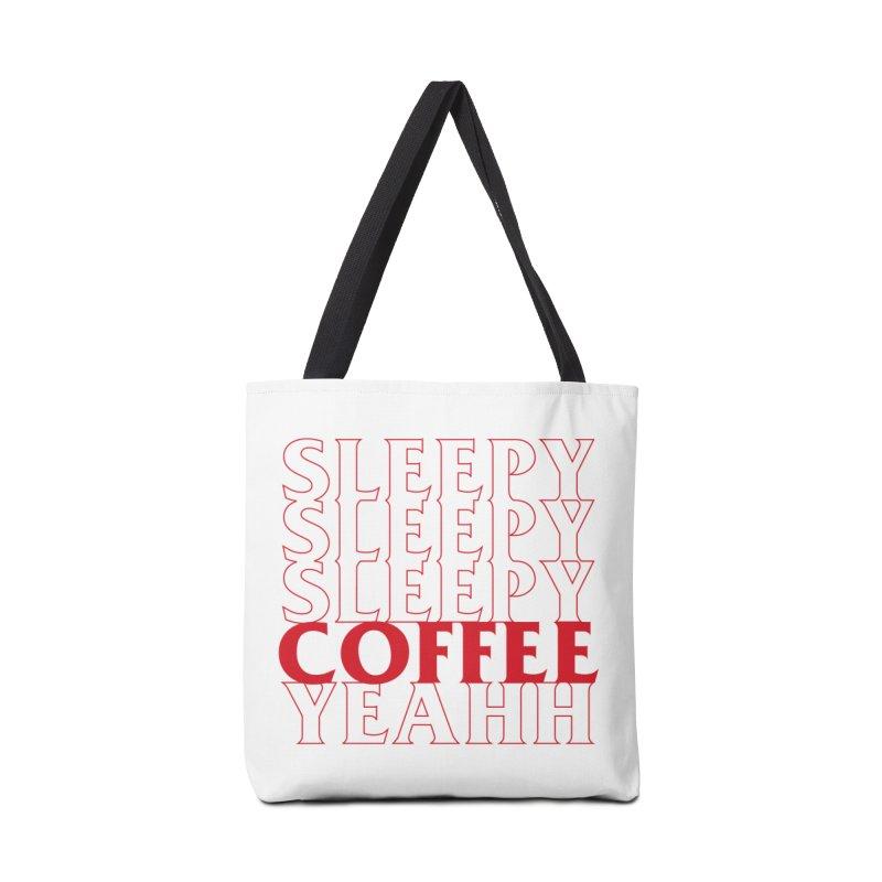 COFFEE YEAHH Accessories Bag by alchemist's Artist Shop