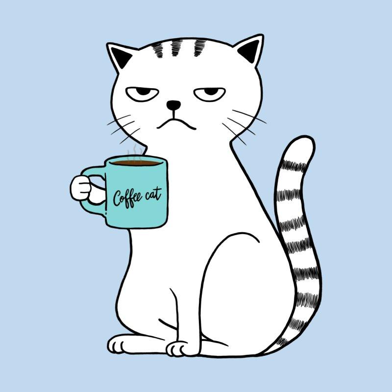 COFFEE CAT by alchemist's Artist Shop