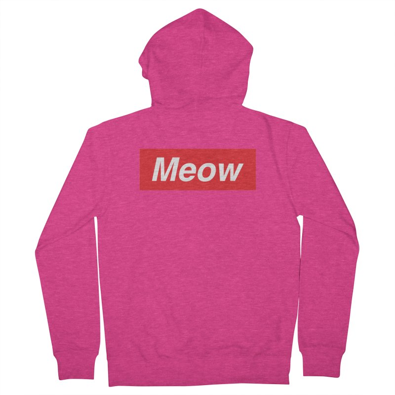 meow Women's Zip-Up Hoody by alchemist's Artist Shop