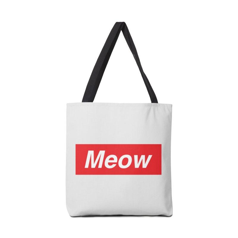 meow Accessories Bag by alchemist's Artist Shop