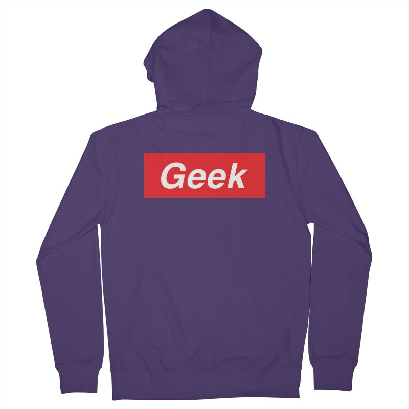 GEEK Women's Zip-Up Hoody by alchemist's Artist Shop